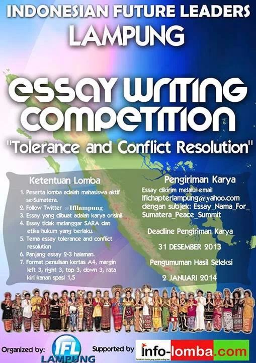 Poster Esay Writing Competition