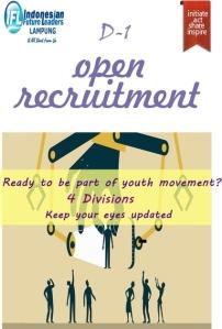 #OpenRecruitment  #IFLLampung
